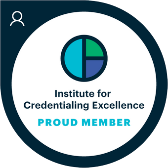 Institute for Credentialing Excellence logo